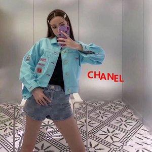 progettista di lusso Denim Giacche Donna Cappotti di base 2020 nuovo modo selvaggio femminile tuta sportiva casuale canale Denim cappotti c giacca no.5 arrangiarsi