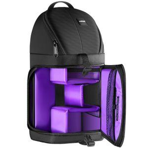 Neewer المهنية الرافعة كاميرا حقيبة التخزين الدائم للماء والمسيل للدموع إثبات الأسود حمل حقيبة الظهر حالة لكاميرا DSLR