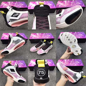New Size 36-46 Top Quality Jumpman 34 34S Paris limited air cushion basketball shoes with front and back palms sports shoes Sneakers