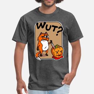 Murderous Fox With Knife Halloween Pumpkin What T Shirt Cute Kawaii White Tracksuit Hoodie Sweatshirt