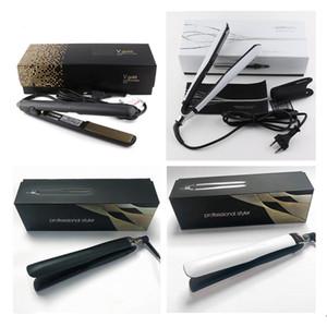 الطراز EPACK 1PC V الذهب ماكس فرد الشعر الفنية الكلاسيكية سريعة تنعيم الشعر الحديد تصفيف الشعر أداة PLATINUM + انخفاض الشحن