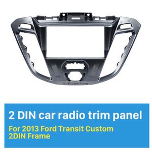Cadre fascia Double Din Car Radio 173 * 98 mm pour 2013 Ford Transit personnalisée Plate stéréo Frame Panel Kit Dash radoub