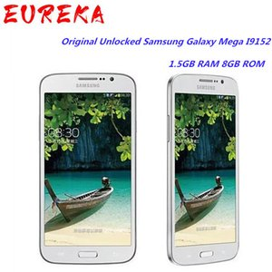 Original Unlocked Samsung Galaxy Mega I9152 GPS 5.8 Inches Dual Core 1.5GB RAM 8GB ROM 8MP Dual SIM WIFI Touchscreen mobile phone