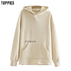 loose oversize womens sweatshirt autumn winter fleece toppies hoodies 2020 women clothes