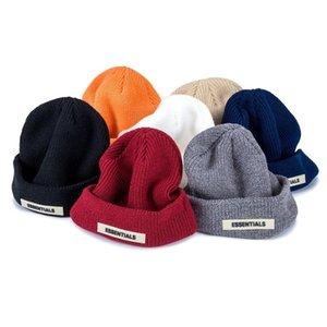 Essentials Beanie Winter Hats For Women Men Autumn Docker Brimless Cap Designer Bonnets Wholesale Ladies Accessories Skullcap Hip Hop 2020