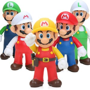 Classical Super Bros Yoshi Luigi Mario PVC Action Toys 12cm Collection Model Funny Anime Figures Kids Toy For Children