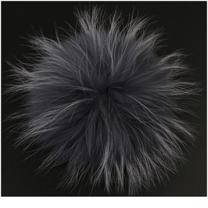 5 Pcs 15cm Real Raccoon Fur Pompoms 13cm Fox Pompom Fur Pom Poms Natural Fur Pompon For Hats Bags Shoes Scarves Acc jllKSf