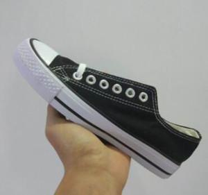 Ücretsiz Kargo Yeni Size35-45 Yeni Unisex Düşük Üst Yüksek Üst Yetişkin kadın erkek Tuval Ayakkabılar 13 Renkler Laced Rahat Ayakkabılar Sneaker Ayakkabı