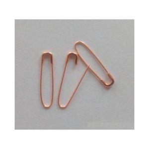 1000 PCS Fashion Gold Color Hang Tag Sicurezza Pin di sicurezza in U Shaped, Stile Coilless e Non Snag QEU4I KIO1M