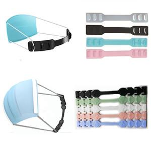 Masque Crochet de protection de l'oreille Troisième vitesse Clip de crochet réglable pour le support de masque Soulier antidérapant Douleur d'oreille