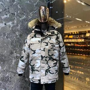 2020 Top New New Hombres Casual Down Chaqueta Down Abrigos Para Hombre Moose Al Aire Libre Hombre Cálido Invierno Al Aire Libre Moda Hombres Ganso Abajo Abrigos