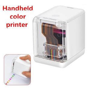 Ручной полноцветный принтер Портативный Wi-Fi Мобильный Цветной принтер Ручной и замену Чернила Картриджа1