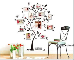 120*100cm Large Size Family Picture Photo Frame Tree Wall Quote Art Stickers Home Decor Bedroom Decals ZYPA-6031