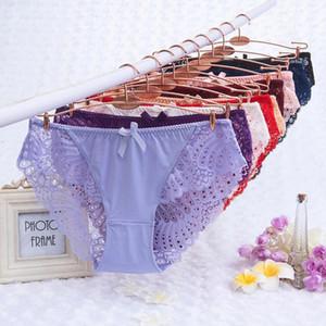 6XL Sexy трусики нижнее белье женщины Кружевные трусы Calcinhas Lingeries Бесшовные Panty Плюс Размер Шорты Underpant Lady девушки цветка Pant