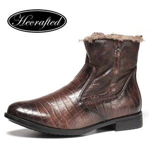 Chaussures d'hiver Hommes Hommes Hommes chaleureux confortables Bottes d'hiver Hommes # KD5207C3 201127