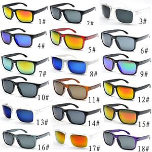 Promoção hot óculos de sol homens designer de moda espelho quadrado lente sol óculos unisex clássico estilo para mulheres uv400 proteção de proteção 10 pcs