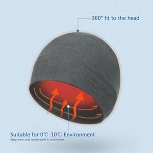 Winter Outdoor Hat Fleece Beanie Warm Cap Windproof Thermal Cap Watch for Hiking Riding Climbing