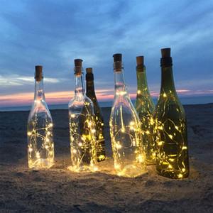 Wine Cork 20leds Бар рождения вечеринка свадьба праздник праздник рождественские вечеринки Новый год Halloween аккумулятор творческие огни