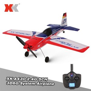 WLTOYS XK A430 2.4G 5CH RC Aereo Aereo Brushless Motor 3D6G System Glide RC Plan 430mm Wingspan EPS RC Aircraft Airplane Modello RTF Y200413