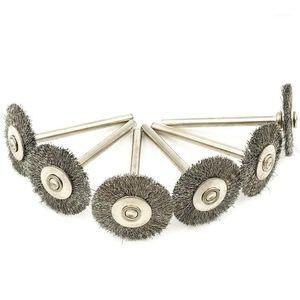 100 шт. Для ROTEMEL ROTARY WIRE Щетки колес набор 3,0 мм хвостовик для древесных аксессуаров для древесины Metalwoking Tools1