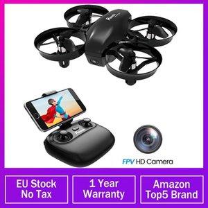 Mini drone potensico con fotocamera Wifi FPV Altitudine Tenere la modalità senza testa 2.4G 6Axis RC Dron Quadcopter Giocattoli per bambini 2 Batteries1