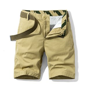 2020 Spring and Summer Mince Pure Color Pants Casual Outfor Outdoor Coréen Fashion Hommes Shorts Hommes