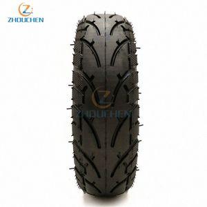8x2.00-5 neumático sin tubo neumático de la rueda 8X2.00-5 cubo de la rueda de la bici del bolsillo de la mini bici Silla de ruedas eléctrica del motor VoZC #