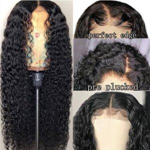 Brazilian 4*4 Lace Closure Wig Straight Pre-Plucked Human Hair Wigs 150% Density Lace Wig with Baby Hair Indian Peruvian Hair