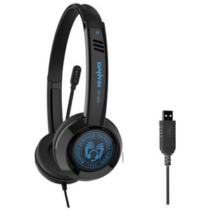 DT326 USB Wired Noise Cancelling Students Headphone Wired Earphone HiFi Headphones for Learning Online Music