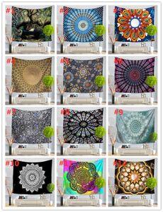 51 Design Mandala Tapestry Wall Hanging Mural Yoga Mats Beach Towel Picnic Blanket Sofa Cover Party Backdrop Wedding Home Decoration