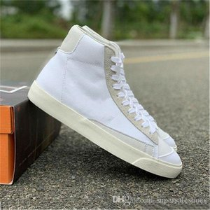 2020 Hot Sale Blazers Mid 1977 Vintage WE Skateboard Shoes Men Women White Comfortable Outdoor Sports Trainer Sneakers