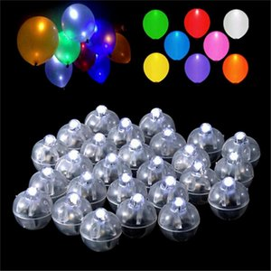 Mini Round Led Ball Lamp Balloon Light Changing Balloon Lights For Wedding Valentine S Day Christmas Party Decoration