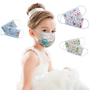 2020 face mask s face mask special version Christmas children's masks student Christmas dustproof Anti smog disposable masks
