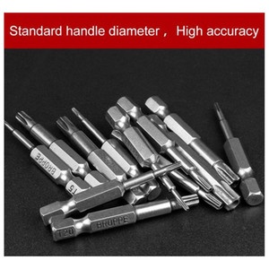 12pcs set Security Bit Set Tamper Proof Screwdriver Drill Bit Screw Driver Bits Torx Flat Head 1  wmtnBM homes2011