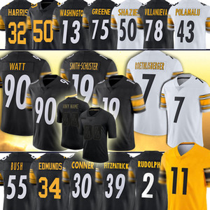 19 Juju Smith-Schuster 90 T.j. Watt 11 Chase Claypool 2 Mason Rudolph Devin Bush James Conner Ben Roetlisberger Troy Polamalu Bettis Harris