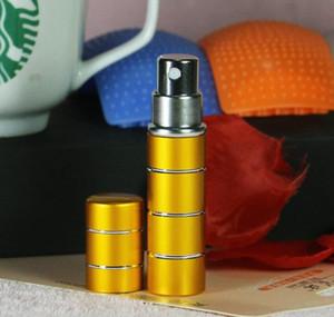 Ligne 5ml Bouteille de parfum en aluminium, atomiseur de parfum, bouteille de parfum de voyage, recharge WMTQKA Comb2010