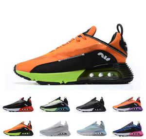 Mens 2090 Running Shoes Women Pure Platinum Triple Black Core Praia Grande Volt White Laser Walking Sneakers Comfortable 2090s Trainers