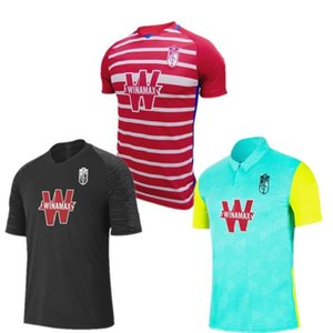 2020/21 Granada futebol Jersey 2021 # 7 VADILLO ETEKI Azeez uniformes dos homens # 9 SOLDADO PUERTAS FERNANDEZ machis camisas de futebol