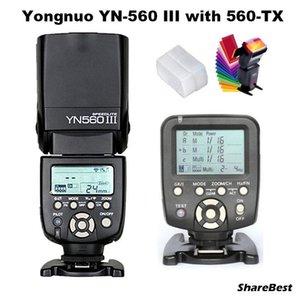 Flashes YongNuo YN-560 III Flash Speedlite With YN-560TX Wirelss Transmitter For Camera