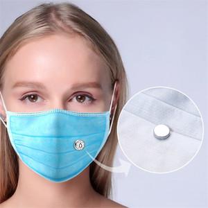 DIY Parfüm Medaillon Maske Noose Mini Magnetic Aromatherapie Medailat für Gesichtsmasken Ätherische Öl Diffusor Snaptaste Kragen Clip Schmuck H12104