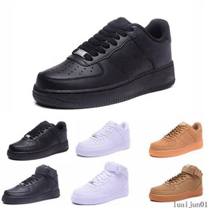 2019 New Classic forces Classical All High and low White black Wheat men women Sports Running Shoes Forcing skate sneakers 36-45 luai01