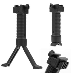 AreyourShop 20mm Tactical Rifle BiPod Mano Grip Grip Vertical Foregrip Picatinny Weaver Rail Tactical Attrezzature Accessori Accessori