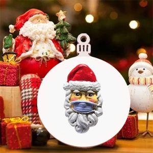 wholesale New Christmas Santa Claus pendant Christmas ornaments