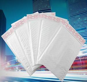 12 * 18 cm Pearl White Blanco Poly Bubble Mailer Sobre impermeable Bolsa de correo acolchada Sellado automático FO WMTOJX DH_NIESSHOP
