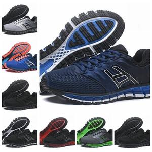Men 2 Correndo Gel-Quantum Top 2s Qualidade 180 Original barato Jogging Sneakers New Fashion Sports Shoes Tamanho 40-45