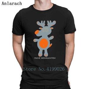 Reinder Rudolph Santa Claus de Navidad Hombre Delgado diseños de primavera cómodo Pop Top Familia Anlarach Sport Sudadera con capucha camiseta