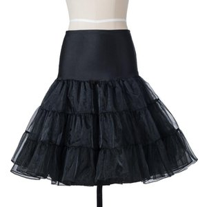 50s tutu Silps oscillare Rockabilly Petticoat sottogonna crinolina pettiskirt soffice per nuziale retro dell'annata donne di sfera