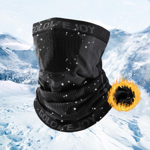 Winter Men's Bandana Outdoor Windproof Dustproof Ear Protection Neck Warmer Gaiter Half Face Mask Elastic Bicycle Scarf For Men1