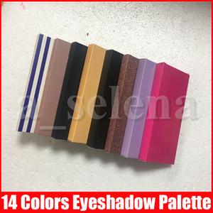 Maquillage pour les yeux Palette 14 couleurs EYESHADOW 11 types Palettes moderne Or Doux Rose Ombres à paupières Stripe Maquillage Poudre pressée