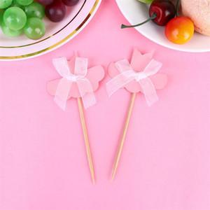 20pcs Girls Birthday Cake Topper Decorative Ballet Clothes Cupcake Picks Dessert Fruites Insert Party Supplies Wedding A35 sqcWBw